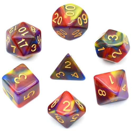 4 color blend dice